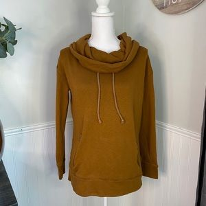 Lands End Women's Brown Pull Over Sweater Size XS